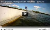 Wakeboard and Wakeskate Box Session – Wakepark LBN // FILM