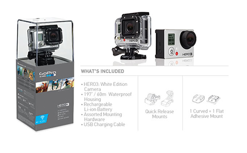 Kamera GoPro HERO3 White Edition