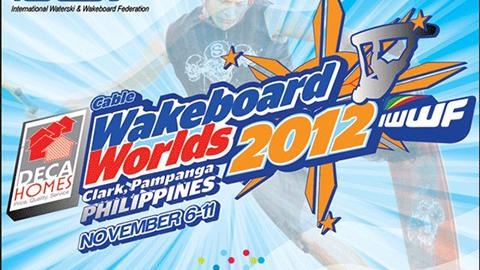 Mistrzostwa Świata w Wakeboardzie 2012 Deca Clark logo