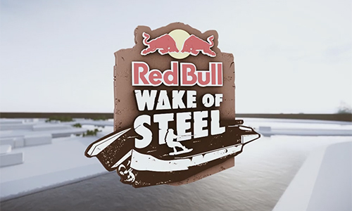 Red Bull WAKE OF STEEL Obstacle Trailer