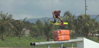 Brad Mason shreds at CWC