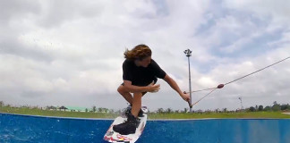 Raph Derome and Aaron Rathy some quick laps in the Philippines