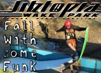 Jibtopia Wakepark - Fall With Some Funk