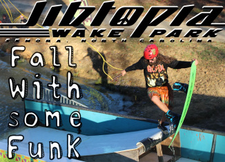 Jibtopia Wakepark - Fall With Some Funk