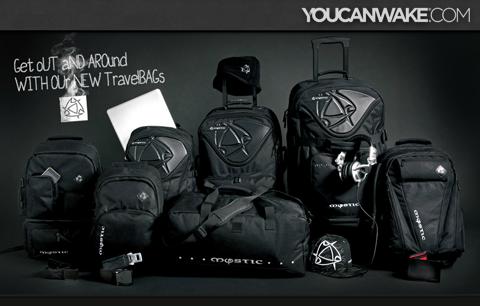 MYSTIC TRAVEL BAGS 2012