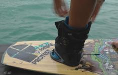 Elke Venken wakeboard shred w TWP