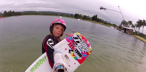 Zahra Kell - System 2.0 wakeboard shred