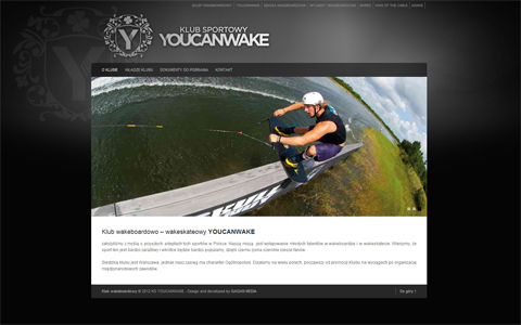 Oficjalna strona Klubu Sportowego YOUCANWAKE