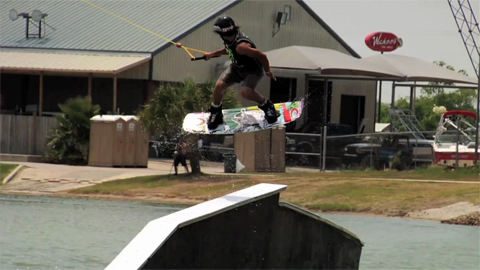 This is cable wakeboarding - A Video