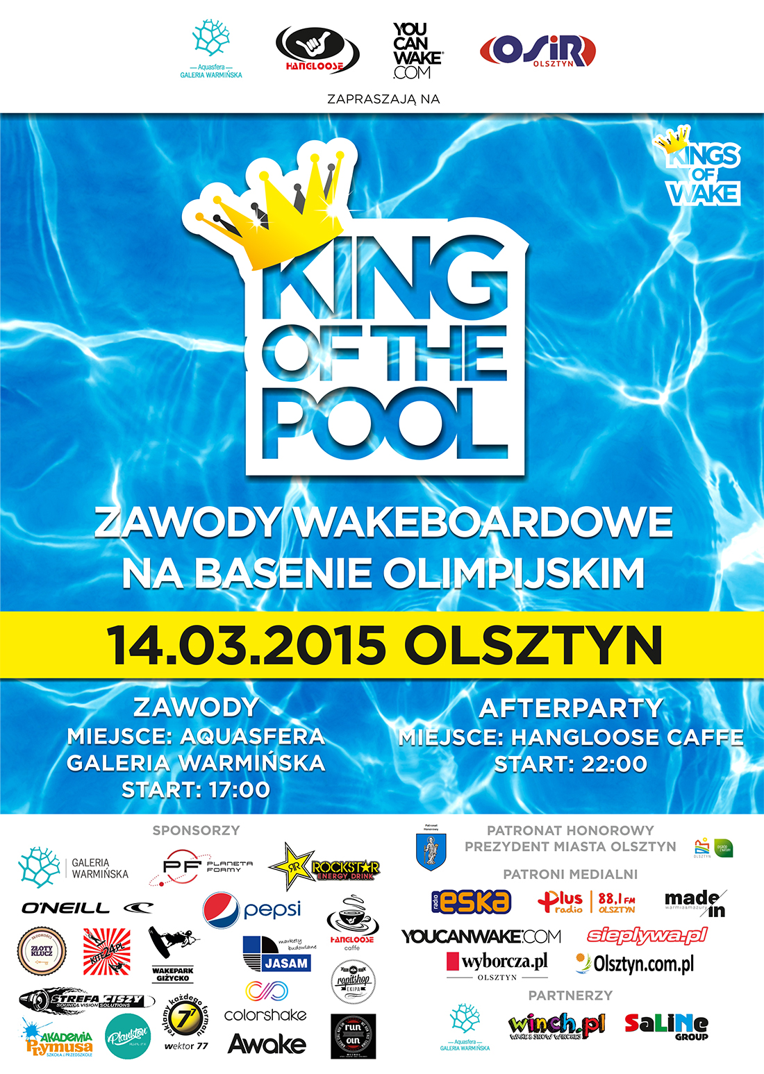 PLAKAT KING OF THE POOL