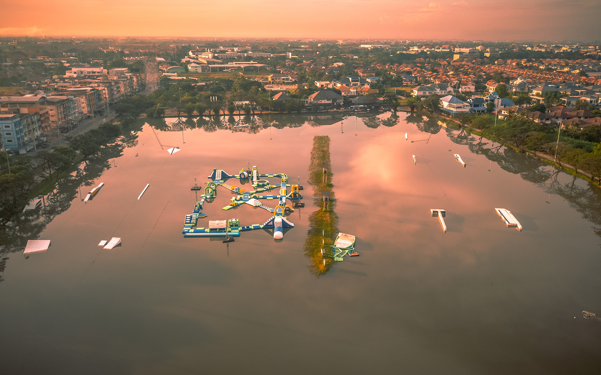 Zanook Wake Park-zanook sunrise